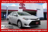 Certified 2018 Toyota Corolla LE LE CVT For Sale in Colorado Springs
