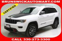 Certified Used 2017 Jeep Grand Cherokee Trailhawk 4x4 in Brunswick, OH, near Cleveland