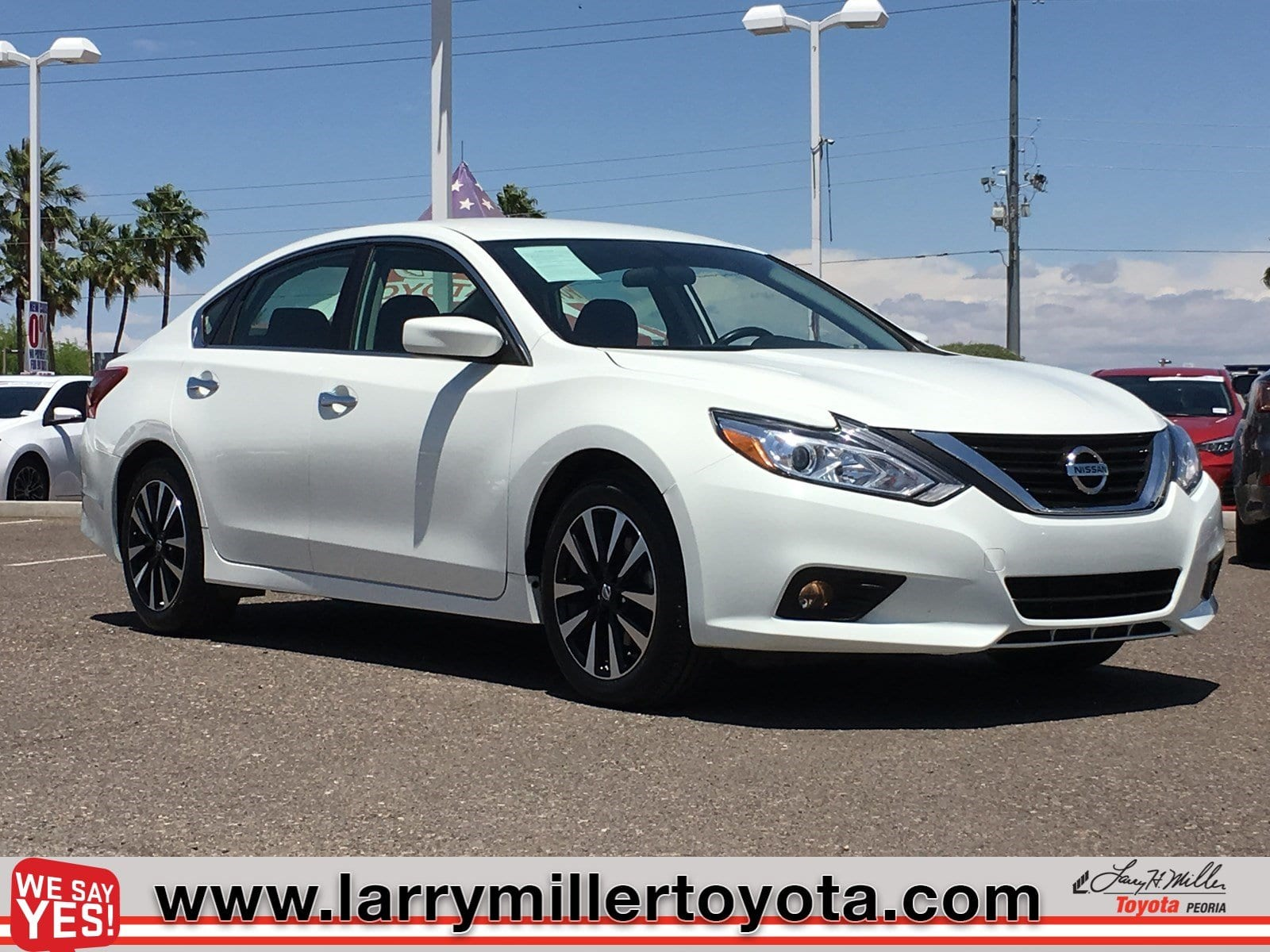 Photo Used 2018 Nissan Altima For Sale  Peoria AZ  Call 602-910-4763 on Stock P32097
