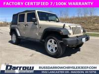 2016 Jeep Wrangler JK Unlimited Sport 4X4 SUV For Sale in Madison, WI