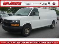 Used 2018 Chevrolet Express 2500 Work Van Van Extended Cargo Van Rear-wheel Drive Near Atlanta, GA