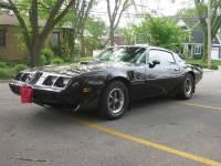 1979 Pontiac TRANS AM -ONE OWNER GEM-FACTORY BLACK BIRD-