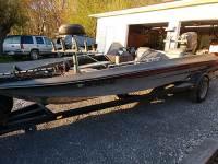 1987 BASS TRACKER 18' FISHING BOAT, TROLLING ...