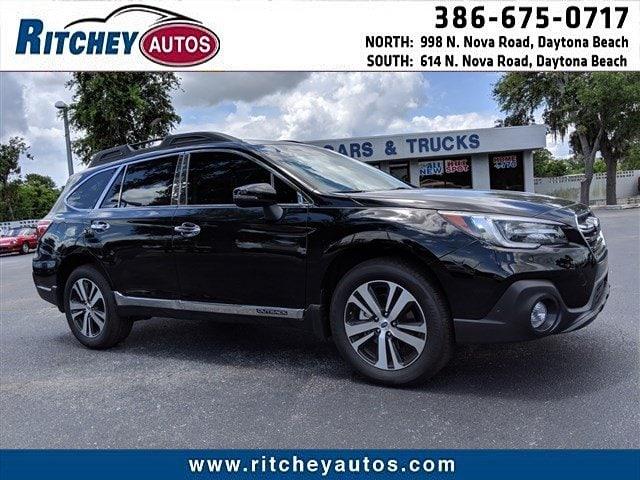 Photo Certified Pre-Owned 2018 Subaru Outback Limited in Daytona Beach, FL