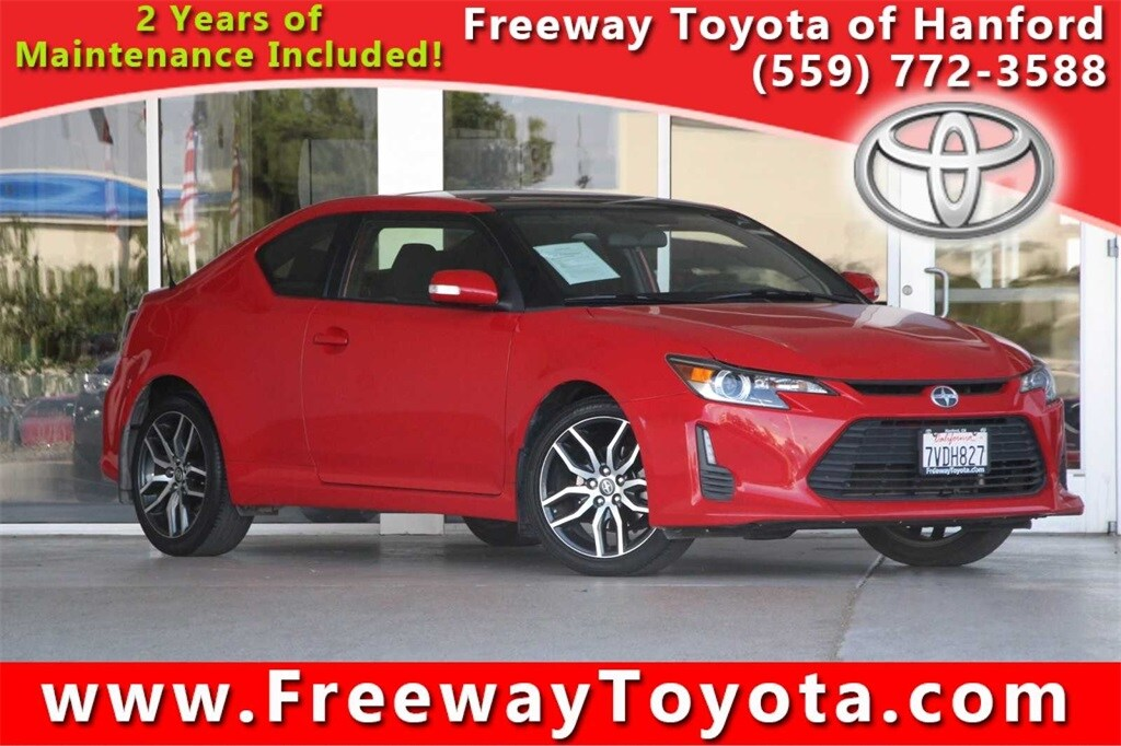 Photo 2016 Scion tC Coupe Front-wheel Drive - Used Car Dealer Serving Fresno, Central Valley, CA