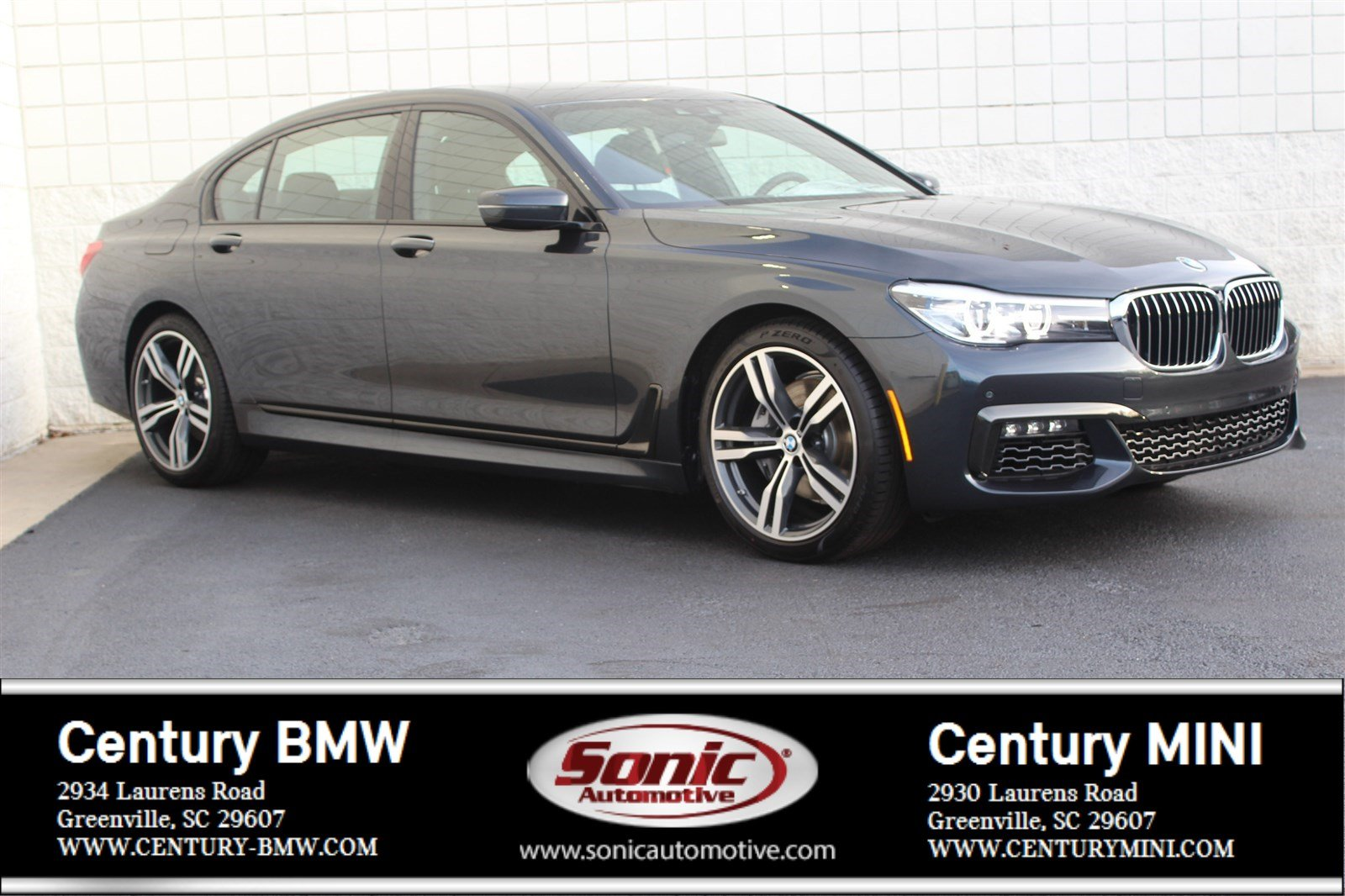 Photo Pre-Owned 2019 BMW 7 Series 740i Sedan in Greenville, SC