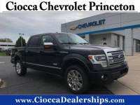 Used 2013 Ford F-150 4WD SuperCrew 145 Platinum For Sale in Allentown, PA