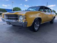 1971 Chevrolet Chevelle -AC-NUMBERS MATCHING MALIBU-TEXAS MUSCLE CAR-RESTORED