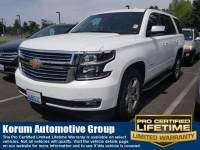 Used 2016 Chevrolet Tahoe LTZ SUV V8 for Sale in Puyallup near Tacoma