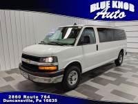 2018 Chevrolet Express 3500 LT Extended Passenger Van in Duncansville | Serving Altoona, Ebensburg, Huntingdon, and Hollidaysburg PA