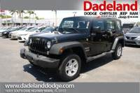 Certified Used 2015 Jeep Wrangler Unlimited Sport SUV in Miami