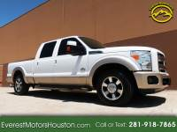 2011 Ford F-250 SD KING RANCH CREW CAB SHORT BED 2WD NAV CAM DVD