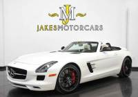 2013 Mercedes-Benz SLS AMG GT Roadster ($233,075 MSRP)...1-OWNER!