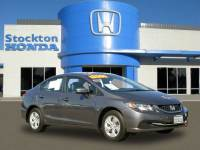 Used 2015 Honda Civic LX For Sale in Stockton, CA