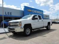 Pre-Owned 2017 Chevrolet Silverado 2500HD Double Cab Long Box 4-Wheel Drive Work Truck VIN 1GC2KUEG8HZ342058 Stock Number 25115C