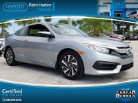 Certified 2017 Honda Civic LX Coupe in Tampa FL