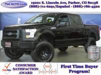 2017 Ford F-150 XL 4WD SuperCrew W/Custom Lift/Wheels/Tires