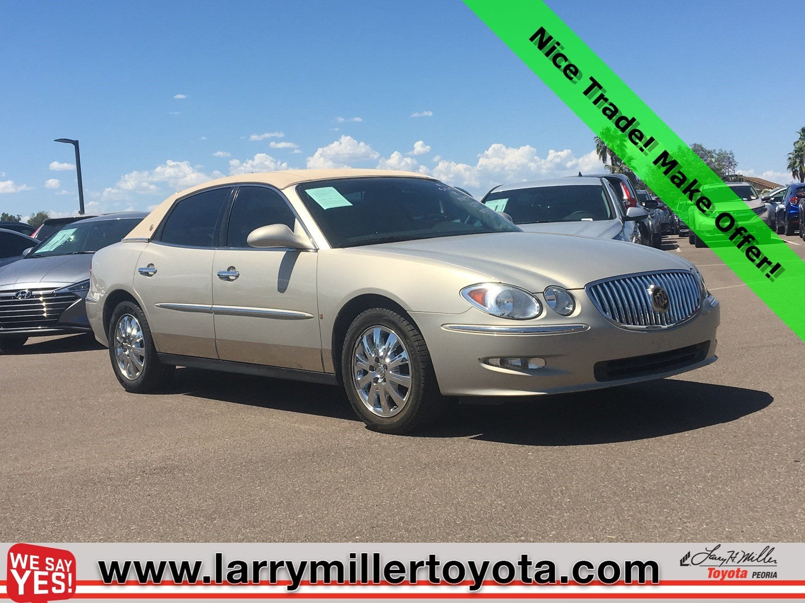 Photo Used 2008 Buick Lacrosse For Sale  Peoria AZ  Call 602-910-4763 on Stock 99205A