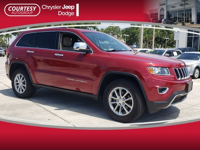 Photo Pre-Owned 2014 Jeep Grand Cherokee Limited 4WD Limited in Jacksonville FL