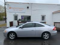 2004 Honda Accord EX Coupe AT with Leather and XM Radio 5-Speed Automatic