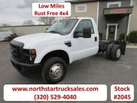 Used 2009 Ford F-350 4x4 Cab Chassis