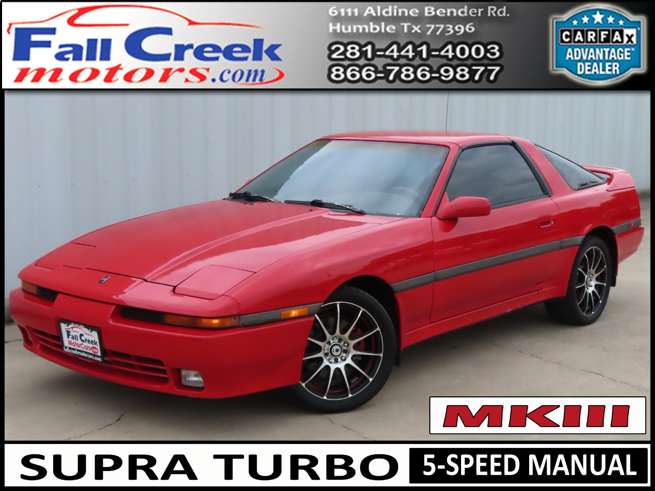 Photo 1990 Toyota Supra Turbo