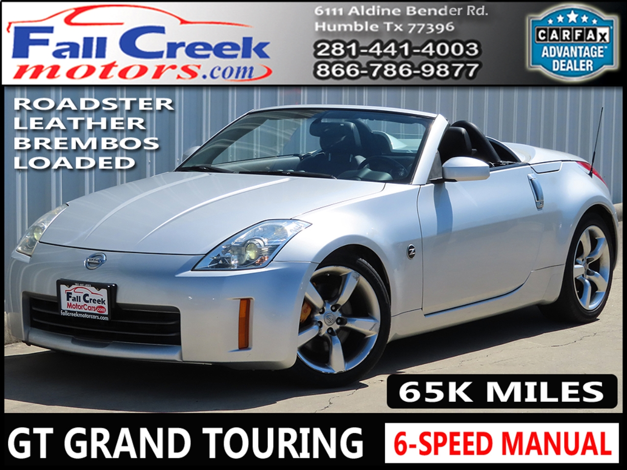Photo 2006 Nissan 350Z Grand Touring Roadster