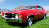 1971 Chevrolet Chevelle -SS-BIG BLOCK ORIGINAL BUILD SHEET