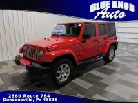 2018 Jeep Wrangler JK Unlimited Sahara 4x4 SUV in Duncansville | Serving Altoona, Ebensburg, Huntingdon, and Hollidaysburg PA