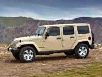2011 Jeep Wrangler Unlimited Sahara SUV 4WD