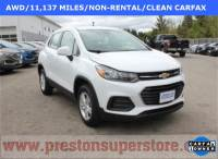 Certified Used 2018 Chevrolet Trax LS SUV in Burton, OH