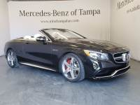 Pre-Owned 2017 Mercedes-Benz S-Class AMG S 63 Cabriolet in Jacksonville FL