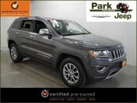 Used 2015 Jeep Grand Cherokee Limited 4x4 SUV in Burnsville, MN.