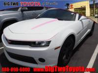 Used 2015 Chevrolet Camaro LS LS Coupe w/2LS in Chandler, Serving the Phoenix Metro Area