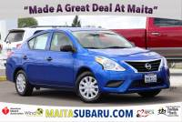 Used 2015 Nissan Versa S Plus Available in Sacramento CA