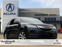 2016 Acura MDX MDX with Advance