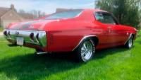 1971 Chevrolet Chevelle -SS-BIG BLOCK ORIGINAL BUILD SHEET-4 SPEED-PURE MUSCLE CAR-