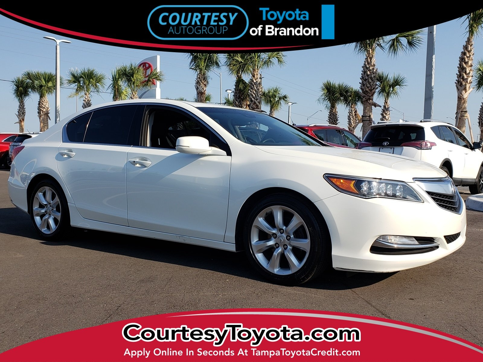 Photo Pre-Owned 2014 Acura RLX RLX Sedan near Tampa FL