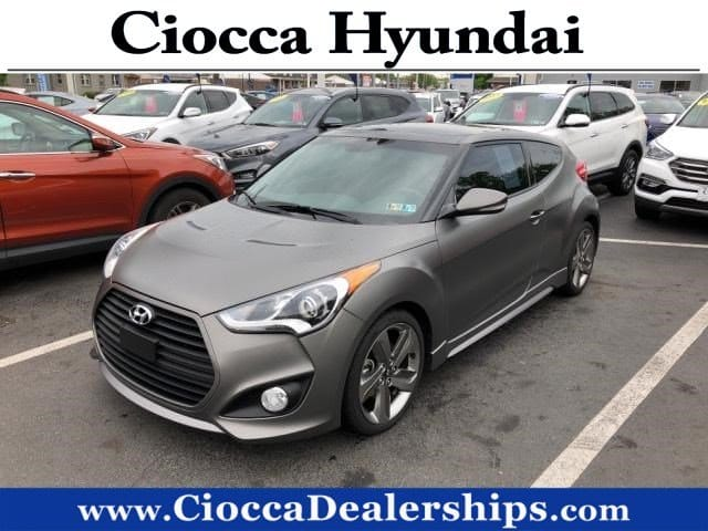 Photo Used 2014 Hyundai Veloster Turbo For Sale in Allentown, PA