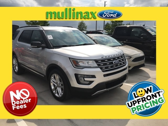 Photo Used 2016 Ford Explorer XLT W 20 Wheels, Navigation, Hands Free Liftgate SUV V-6 cyl in Kissimmee, FL