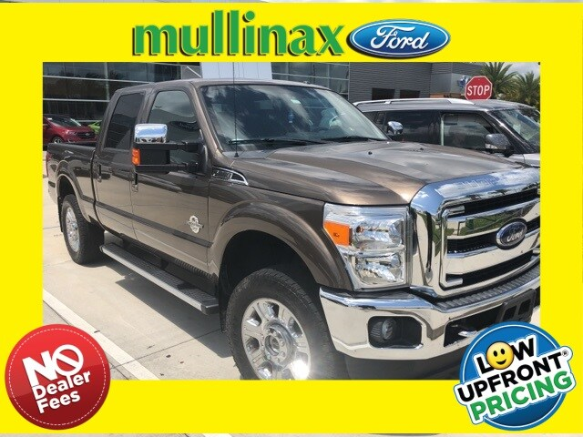 Photo Used 2016 Ford F-250 Lariat W Ultimate Package, 20 Premium Wheels Truck Crew Cab V-8 cyl in Kissimmee, FL