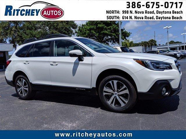 Photo Certified Pre-Owned 2019 Subaru Outback Limited in Daytona Beach, FL