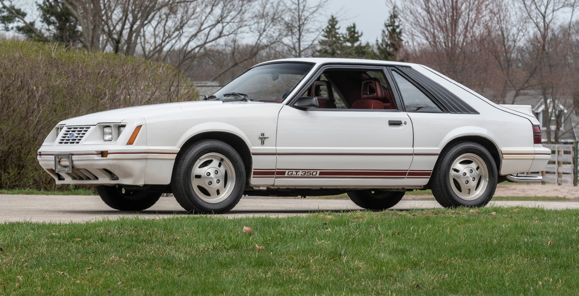 Photo 1984 Ford Mustang -20th Anniversary Edition-Low Miles-Rare-Clean Auto Check Report-