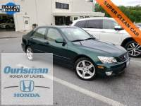 Used 2002 LEXUS IS 300 Base w/5-Speed Sedan in Bowie, MD