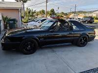 1987 Ford Mustang -GT 5.0-SUPERCHARGED-T TOPS-5 SPEED-CALIFORNIA FIND-