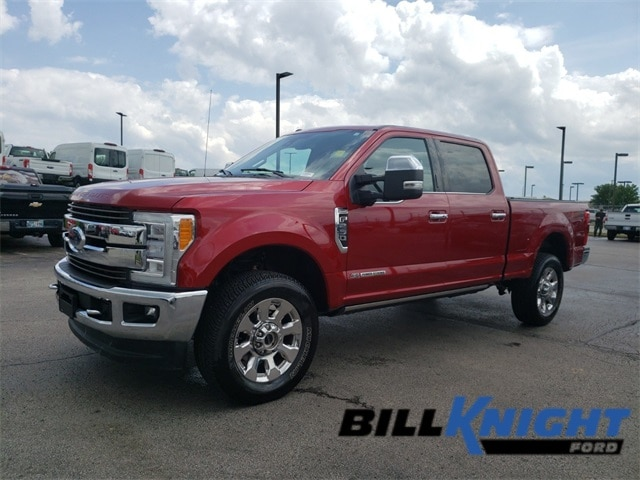 Photo Certified Used 2017 Ford F-250SD King Ranch Truck Power Stroke V8 DI 32V OHV Turbodiesel 4WD in Tulsa