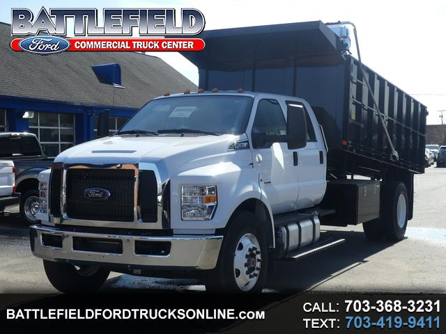 Photo 2019 Ford F-650 Crew Cab w16 Landscape Dump