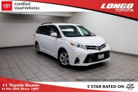 Certified Used 2018 Toyota Sienna LE Automatic Access Seat FWD 7-Passenger in El Monte