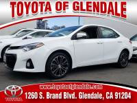 Used 2016 Toyota Corolla S Plus For Sale | Glendale CA | Serving Los Angeles | 5YFBURHEXGP471137