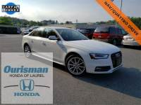 Used 2016 Audi A4 2.0T Premium (Tiptronic) Sedan in Bowie, MD